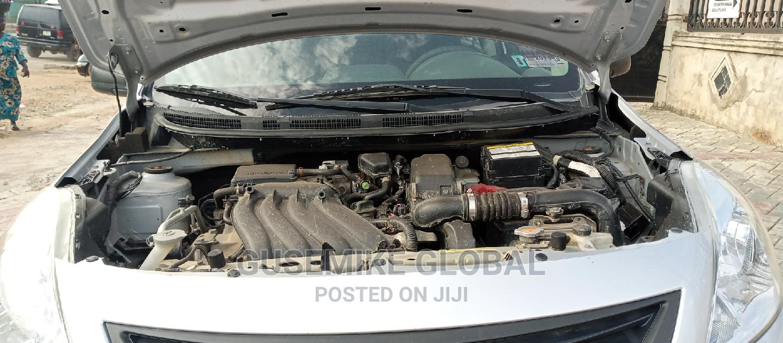 Archive: Nissan Versa 2014 Silver