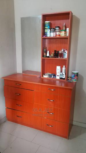 Dressing Table + Mirror + 8 Drawers   Furniture for sale in Oyo State, Ibadan