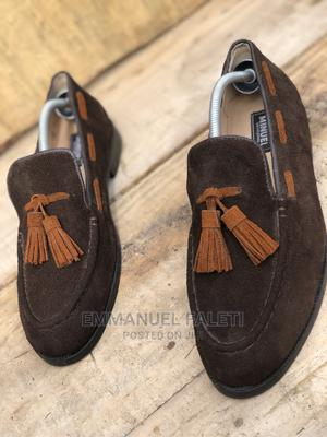 Coffee Brown Suede Loafers With Tassel | Shoes for sale in Lagos State, Mushin