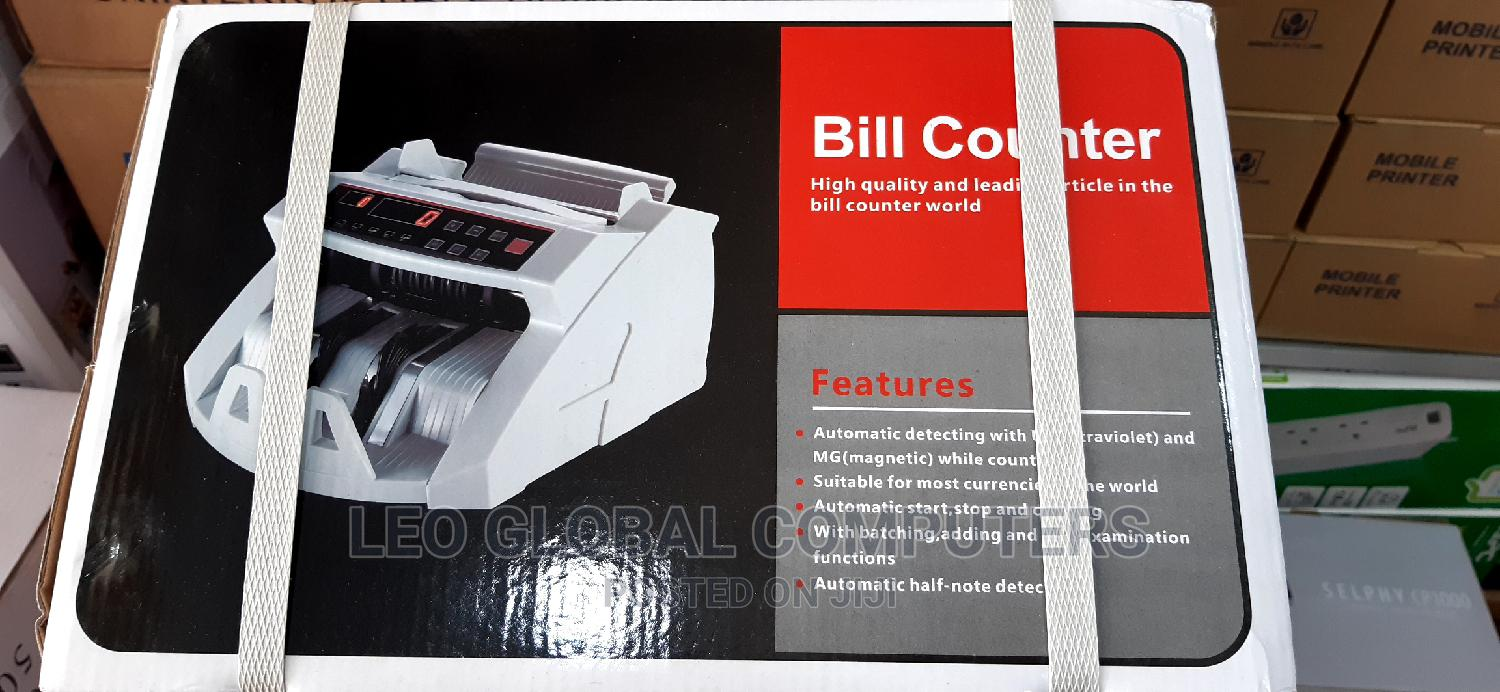 Archive: Bill Counting Machine