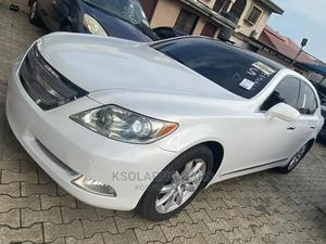 Lexus LS 2008 460 White   Cars for sale in Lagos State, Ikeja