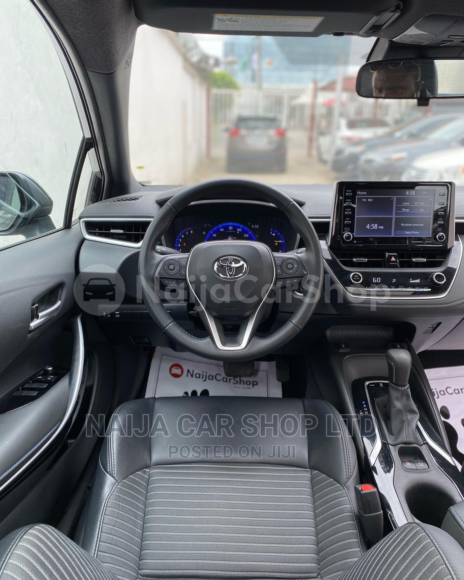 Toyota Corolla 2021 Black | Cars for sale in Ikeja, Lagos State, Nigeria