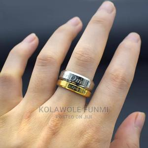 Silver-gold Steel Ring Set | Jewelry for sale in Oyo State, Ibadan