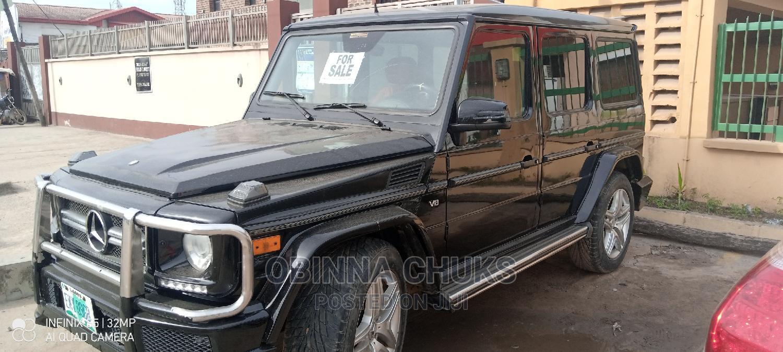 Mercedes-Benz G-Class 2007 Base G 500 AWD Black | Cars for sale in Amuwo-Odofin, Lagos State, Nigeria