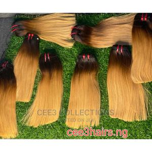 Blonde Bone Straight Virgin Hair. | Hair Beauty for sale in Lagos State, Isolo