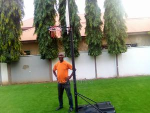 Fibre Glass Basket Ball Stand | Sports Equipment for sale in Abuja (FCT) State, Wuse