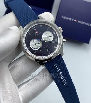 High Quality TOMMY HILFIGER Rubber Watch for Men | Watches for sale in Lagos State, Magodo