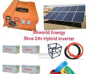 5kva 24V Pure Sine Wave Inverter System   Solar Energy for sale in Lagos State, Lekki