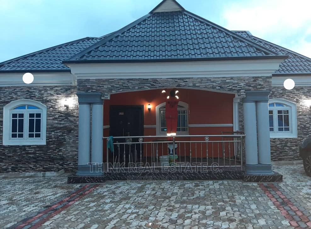 4bdrm Bungalow in Rukpokwu,Port, Benin City for Sale
