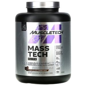Muscletech Mass Gainer, Chocolate Fudge Cake - 7lb   Vitamins & Supplements for sale in Lagos State, Lekki