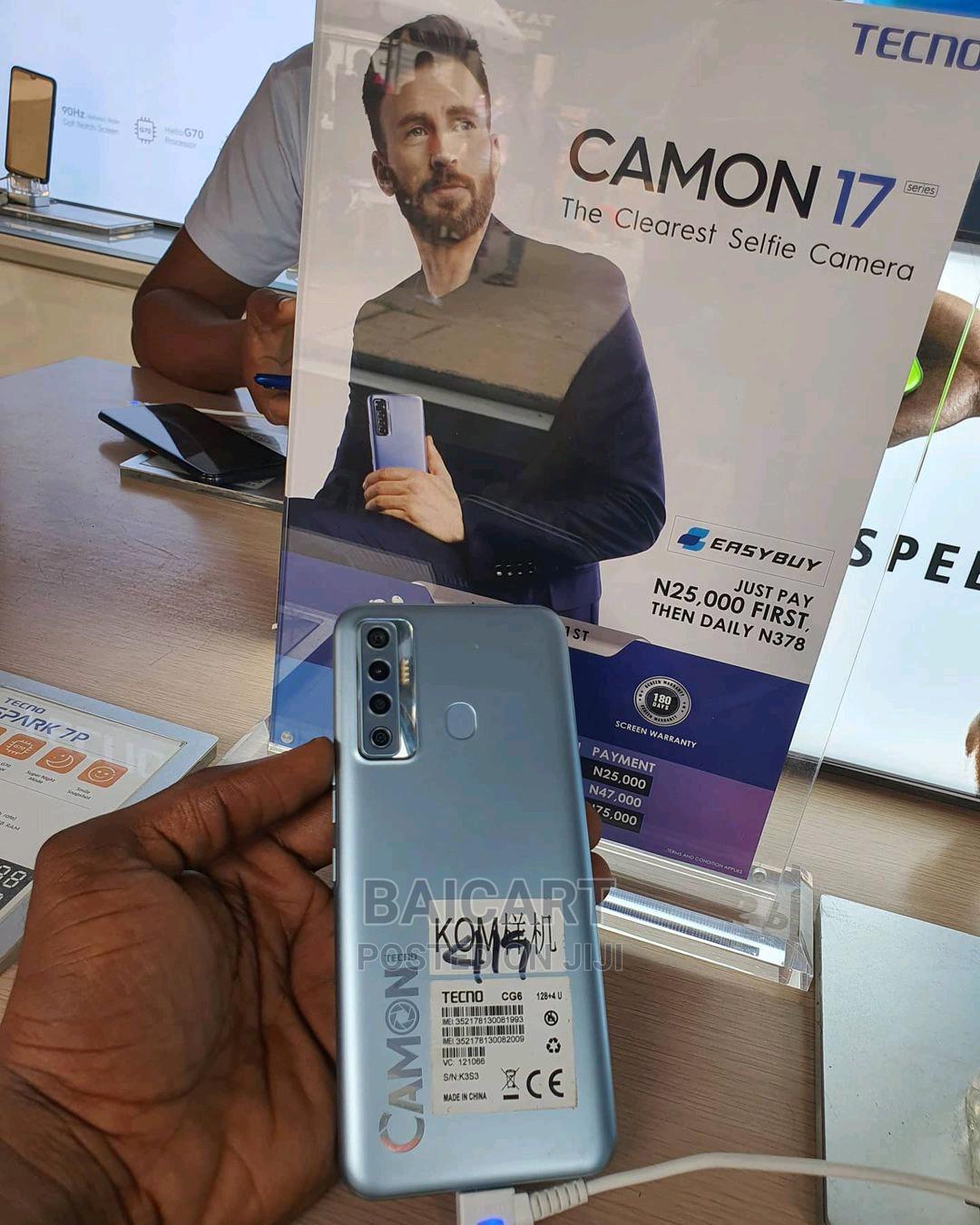 New Tecno Camon 17 128 GB   Mobile Phones for sale in Ikeja, Lagos State, Nigeria