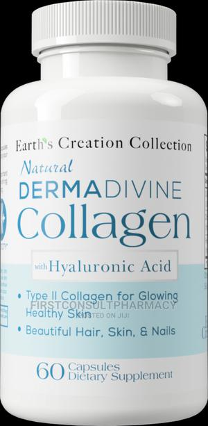 Earth's Creation Natural Derma Divine Collagen X 60 | Vitamins & Supplements for sale in Lagos State, Surulere
