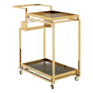 Cans Luxe Gold 3 Tier Trolley | Restaurant & Catering Equipment for sale in Lagos State, Lekki
