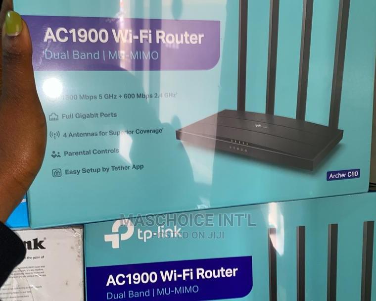 Tp-Link Archerc80 AC1900 Router