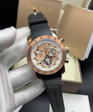 High Quality BVLGARI Mechanical Rubber Watch for Men   Watches for sale in Lagos State, Magodo