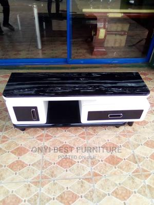 1.2m Glass Tv Stand | Furniture for sale in Lagos State, Ojo
