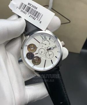 High Quality FOSSIL Black Leather Watch for Men   Watches for sale in Lagos State, Magodo