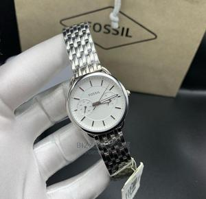 Hight Quality FOSSIL Silver Chain Watch for Men | Watches for sale in Lagos State, Magodo