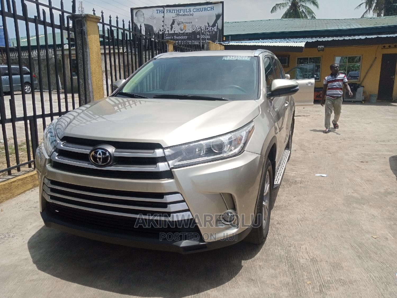 Toyota Highlander 2015 Silver   Cars for sale in Maryland, Lagos State, Nigeria