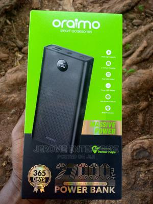 Oraimo 27kmah Digital Display Power Bank | Accessories for Mobile Phones & Tablets for sale in Edo State, Benin City