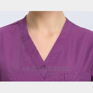 Fashionable V Neck Short Sleeve Medical Scrub Set | Medical Supplies & Equipment for sale in Abuja (FCT) State, Gudu