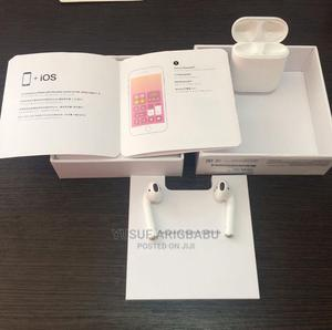 Uk Used Airpod 2 + Pouch   Headphones for sale in Lagos State, Ikeja