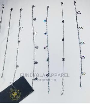 Stainless Steel Silver Anklet Leg Chain   Jewelry for sale in Lagos State, Ajah
