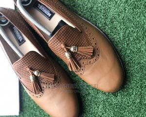 Brown Long Wing Tassel Loafers W   Shoes for sale in Lagos State, Mushin