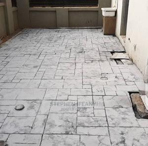 Professional Stamp Floor Installation | Building & Trades Services for sale in Lagos State, Gbagada