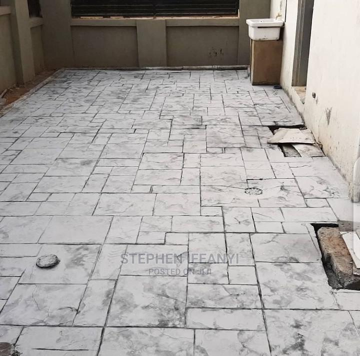 Professional Stamp Floor Installation