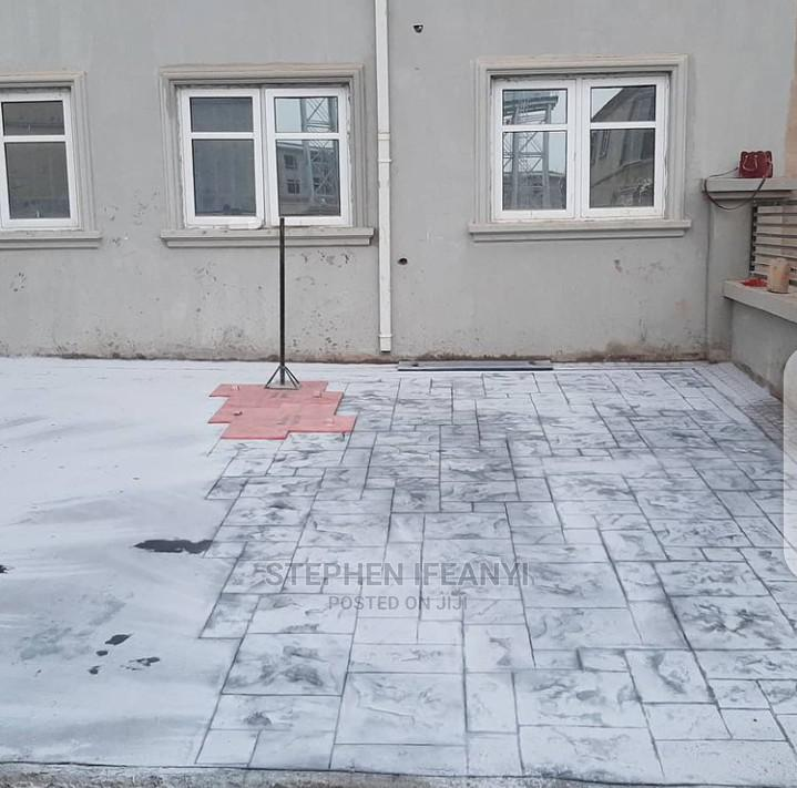 Professional Stamp Floor Installation | Building & Trades Services for sale in Gbagada, Lagos State, Nigeria