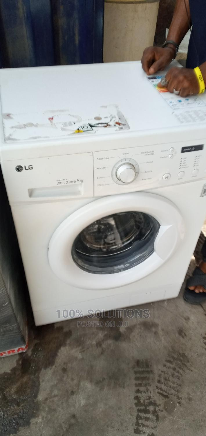 LG Super Clean and Working Washing Machine for Sales | Home Appliances for sale in Surulere, Lagos State, Nigeria