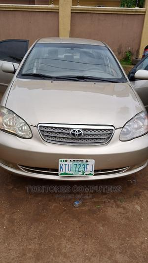 Toyota Corolla 2007 Gold | Cars for sale in Abuja (FCT) State, Gudu