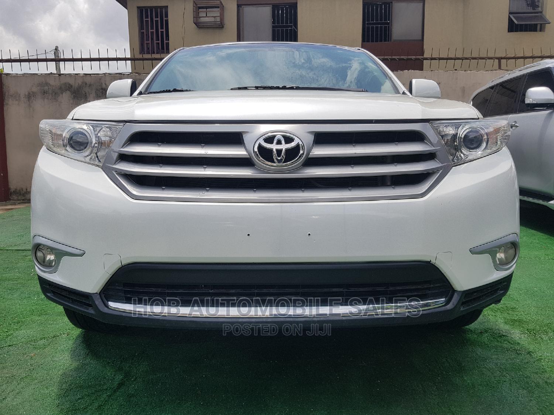 Toyota Highlander 2013 Limited 3.5L 2WD White
