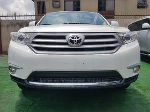 Toyota Highlander 2013 Limited 3.5L 2WD White | Cars for sale in Lagos State, Ikeja