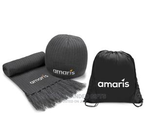 Cap and Scarf Winter Set. Unique. Can Be Branded | Clothing Accessories for sale in Lagos State, Victoria Island