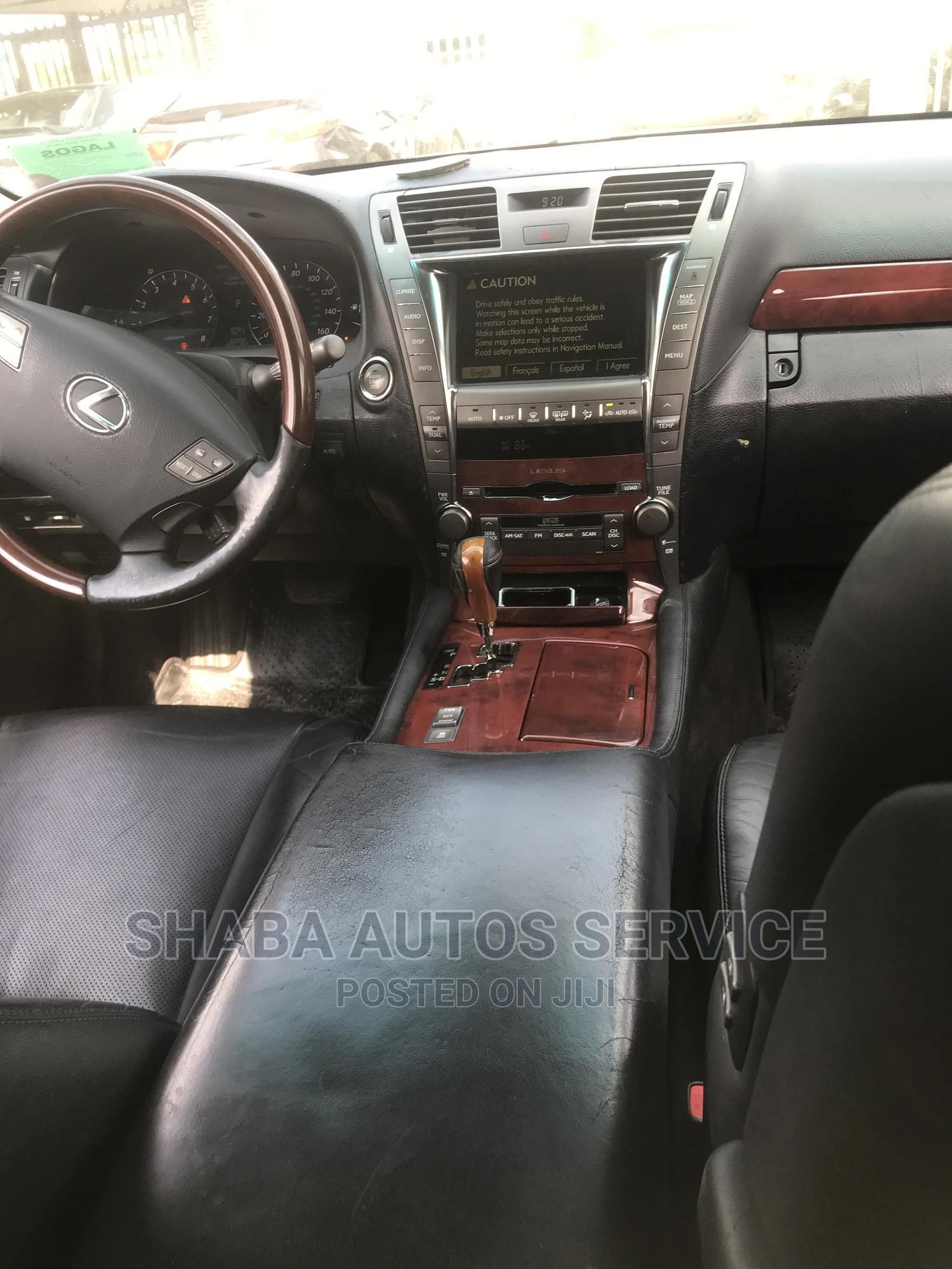 Archive: Lexus LS 2007 Black