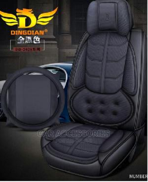 9D Leather Car Seat Cover - Black Colour   Vehicle Parts & Accessories for sale in Lagos State, Ojo