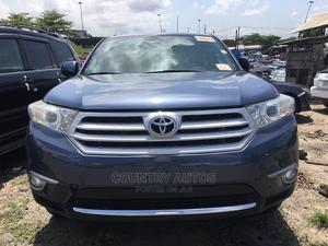 Toyota Highlander 2013 Limited 3.5l 4WD Blue | Cars for sale in Lagos State, Apapa