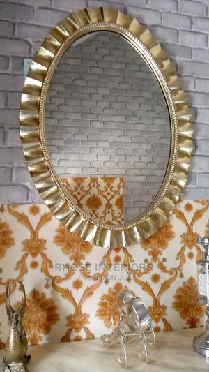Yellow Gold Mirror | Home Accessories for sale in Lagos State, Ojo