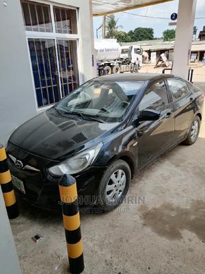 Hyundai Accent 2012 GS Black | Cars for sale in Lagos State, Ojodu