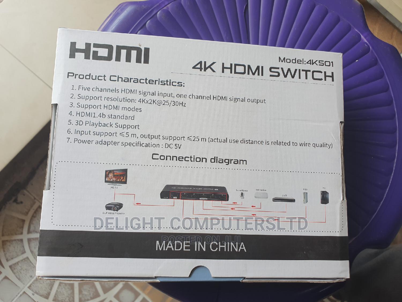 Hdmi 5port Switch 4k | TV & DVD Equipment for sale in Ikeja, Lagos State, Nigeria