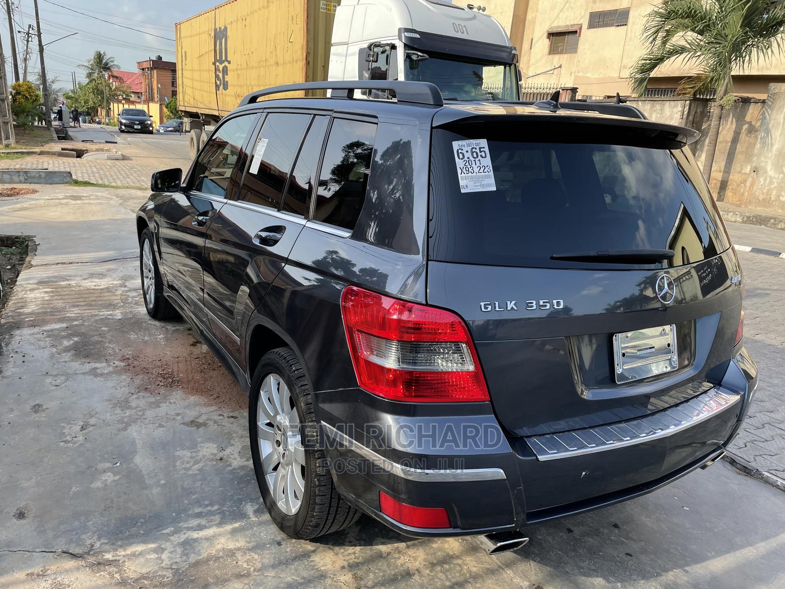 Mercedes-Benz GLK-Class 2011 350 Beige | Cars for sale in Ojodu, Lagos State, Nigeria