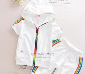 Baby Boy 2pcs Hoodie Up and Down Dress | Children's Clothing for sale in Lagos State, Lagos Island (Eko)
