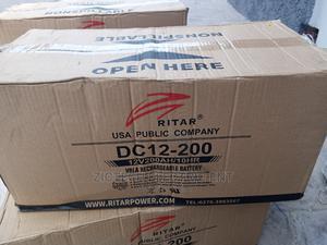 200ah 12v RITAR BATTERY   Solar Energy for sale in Oyo State, Ibadan