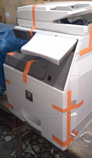 Sharp Coloured Copier, Model MX-4070N, | Printers & Scanners for sale in Lagos State, Ojo