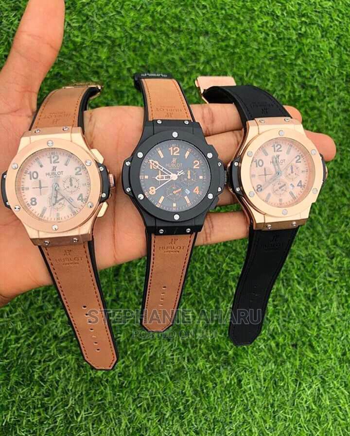 Archive: Quality Rolex Leather Wrist Watch