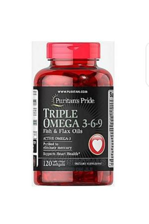 Puritan's Pride Triple Omega 3-6-9 BY 120   Vitamins & Supplements for sale in Lagos State, Ikeja