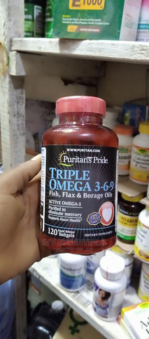 Puritan Pride Omega 3 6 9   Vitamins & Supplements for sale in Lagos State, Lagos Island (Eko)