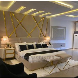 7by6 Padded Design Bed Frame   Furniture for sale in Lagos State, Ojo